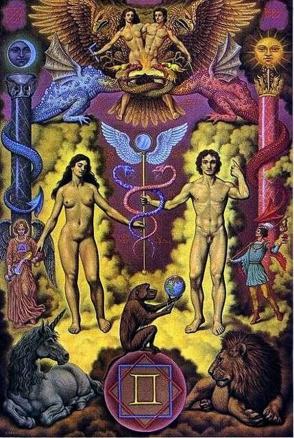 Signo de Geminis, Zodiaco Johfra Bosschart