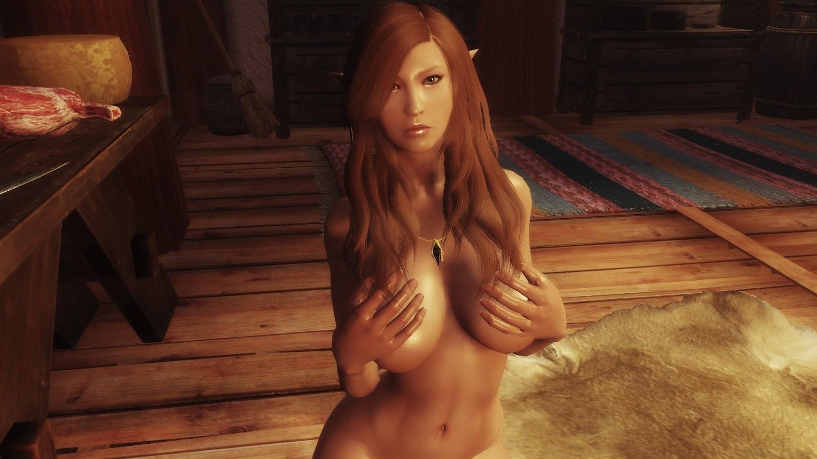 nude girls playing skyrim