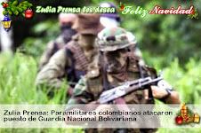 Zulia Prensa: Paramilitares colombianos atacaron puesto de Guardia Nacional Bolivariana
