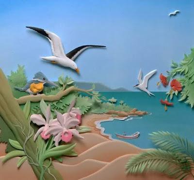 Cheong-ah wang amazing paper art