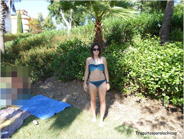 blogger en Parque acuatico bahia park
