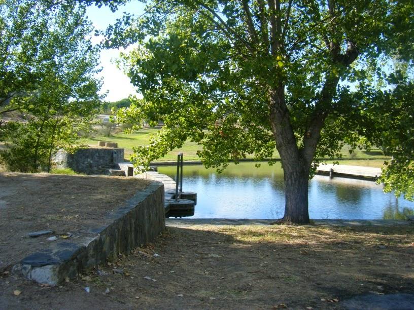 Zona de Banhos na Ribeira da Venda