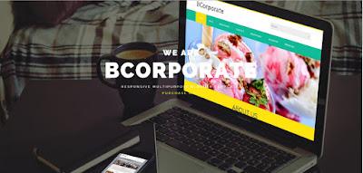 Theme blogspot cá nhân chuẩn seo - BCorporate Responsive Blogger Template