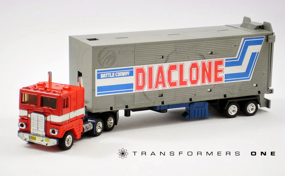 """Square One: Diaclone """"Battle Convoy"""" Quickie"""