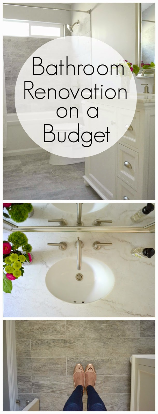 ... to renovate a bathroom on a budget , inexpensive bathroom renovation