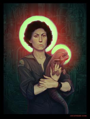 Movie Philosophy - Page 2 Ripley+Alien+baby