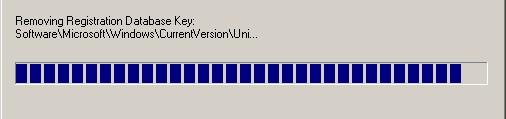 Uninstalling software