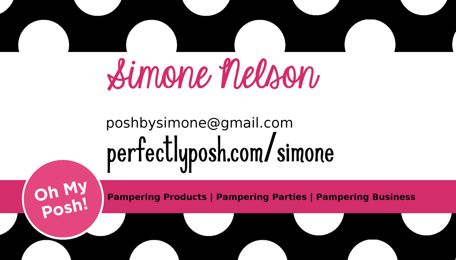 Posh By Simone Making My Own Business Tools