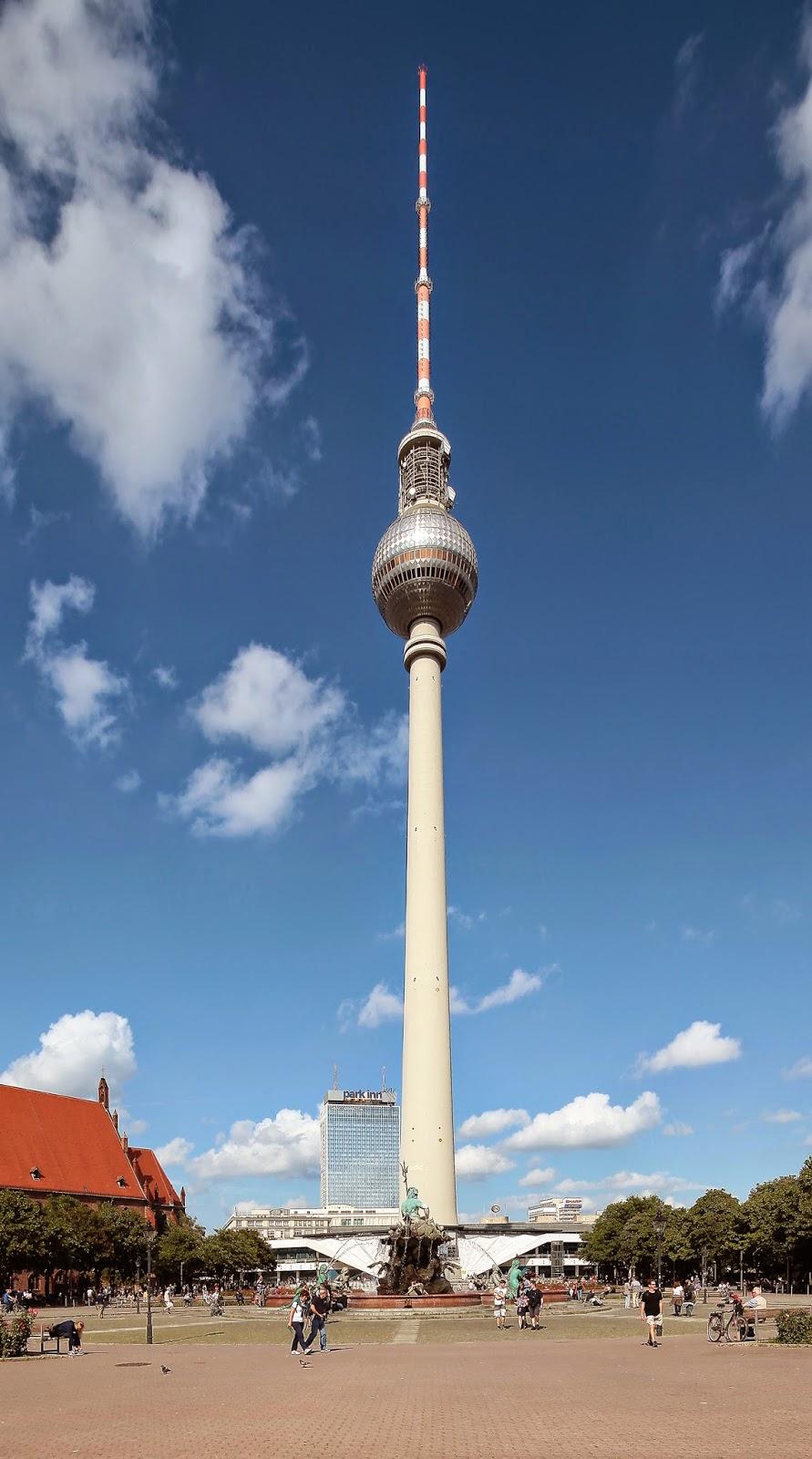Fernsehturm Berlin, Tyskland