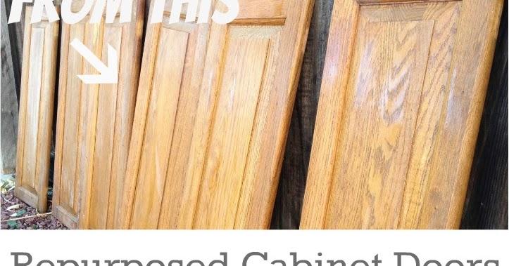 Cabinet Doors into Children's Desk