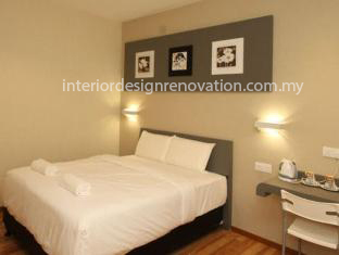 interior design carpentry renovation hotel bedroom room kuala lumpur