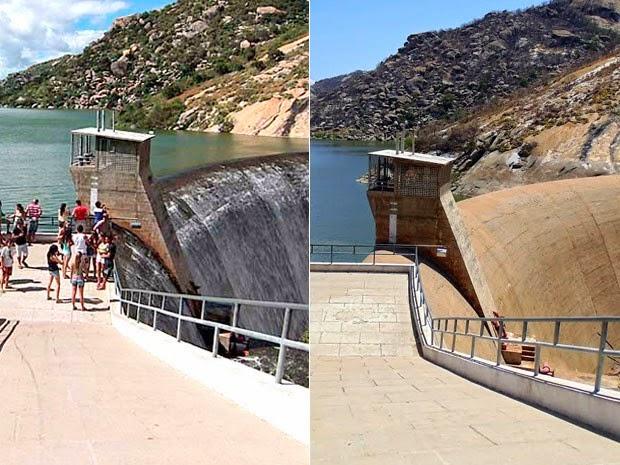 ACARI RN: 'Espetáculo' de águas no semiárido do RN desaparece com seca histórica