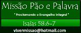 PÃO E PALAVRA