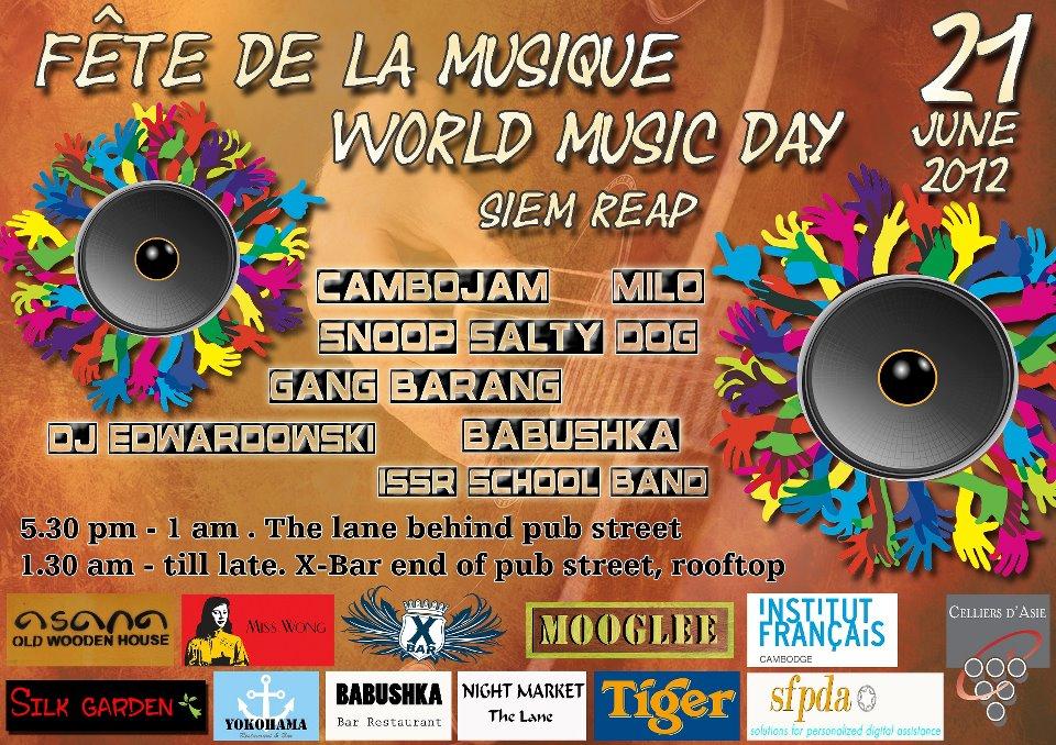 World Music Day World Music Day 2012 in Siem
