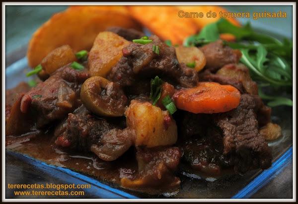 Carne guisada for Cocinar ternera
