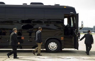 Secret Service Buys Two New $1.1 Million Buses for a Three-Day Presidential Campaign Trip