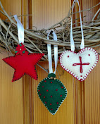 FELT CHRISTMAS ORNAMENT WORKSHOP