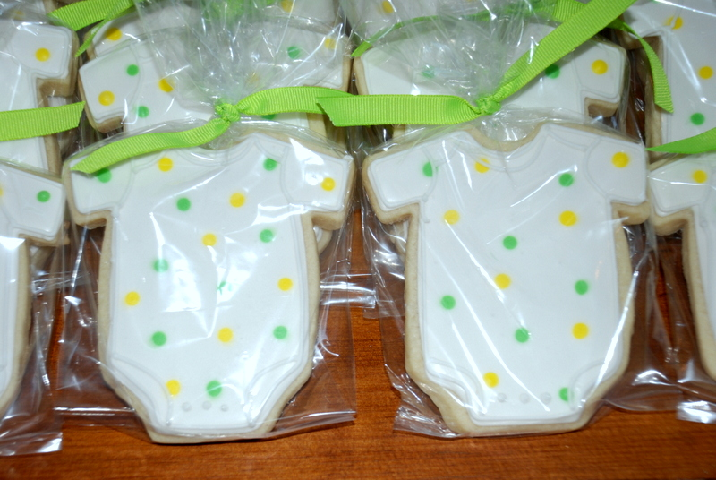 jackandy cookies baby shower favors