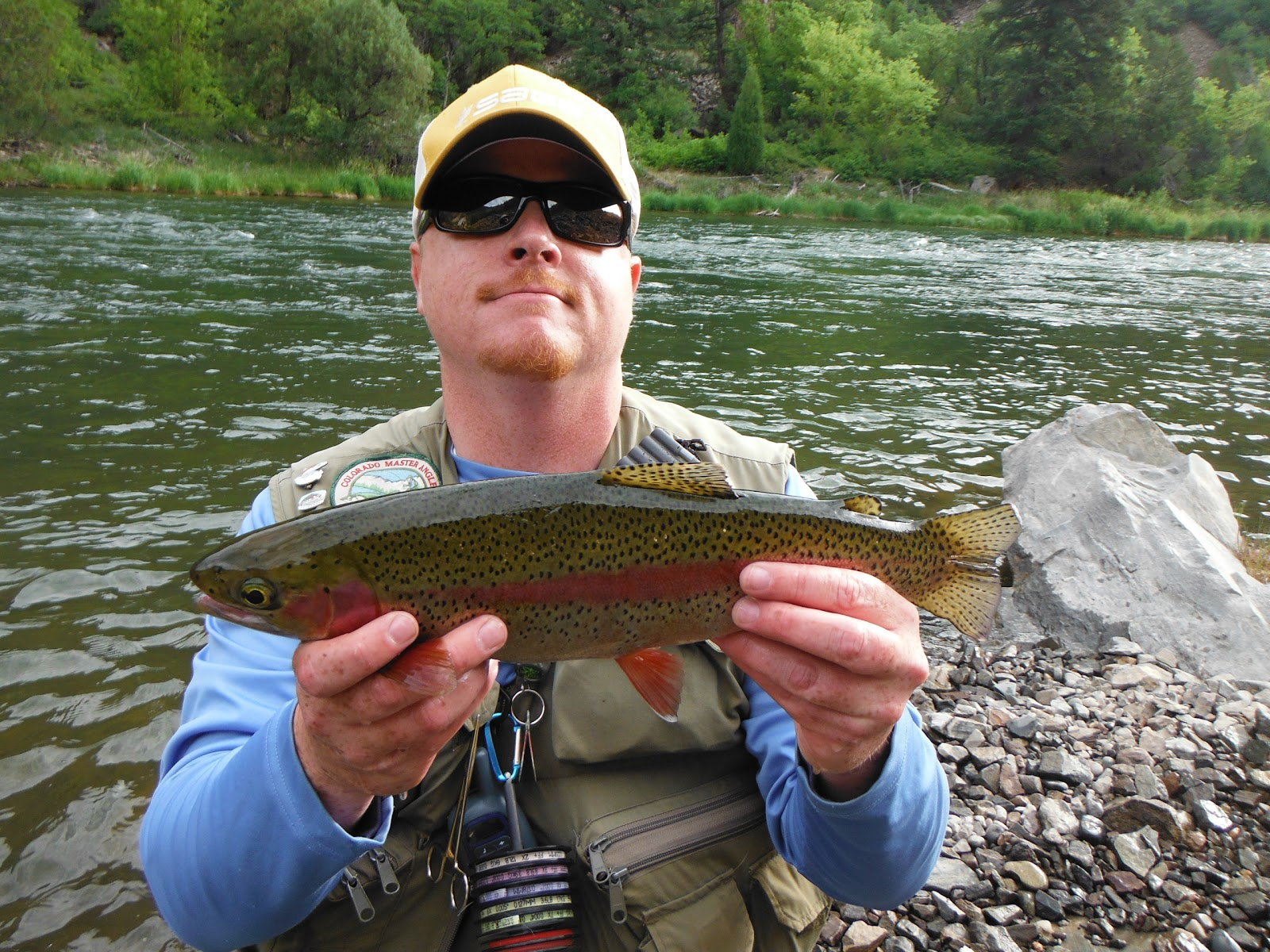 Jamie 39 s fly fishing journal gunnison river east portal for Gunnison river fly fishing