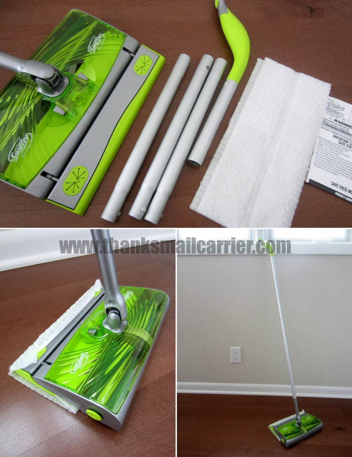 Swiffer assembly