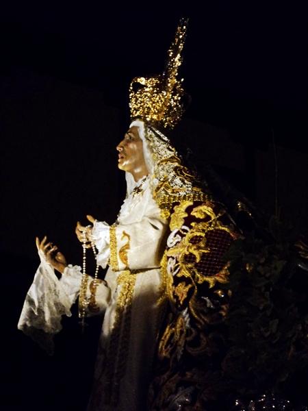 Virgen de las Lágrimas. Cofradía de Nuestra Señora de las Angustias y Soledad. León. Foto G. Márquez