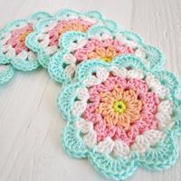 Crochet Pattern Coaster (Etsy)