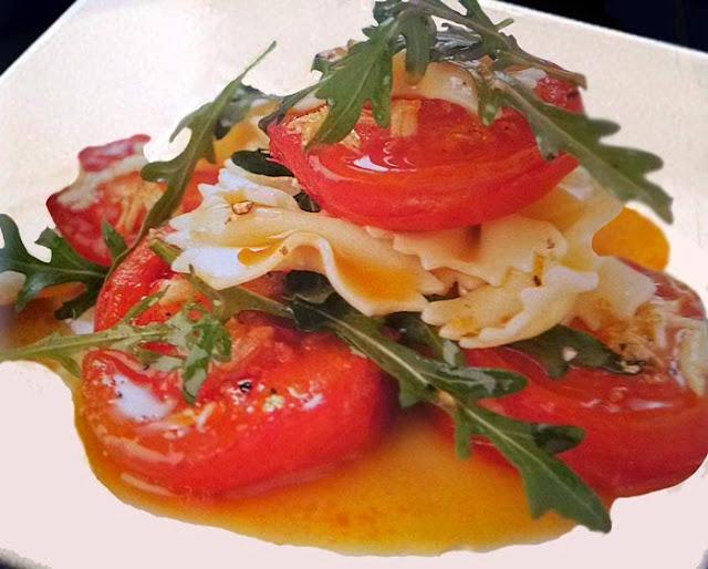 alimentación, asados, ensalada, ensaladas, pasta, sana, tomates,