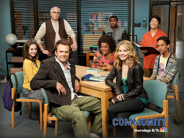 Community, cast, poster, NBC