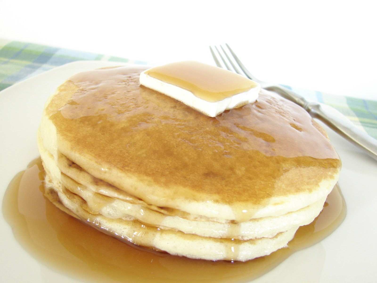 Fluffy Pancakes Recipe — Dishmaps