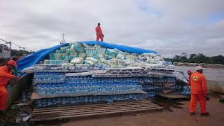 Ipixuna recebe balsa com ajuda humanitária