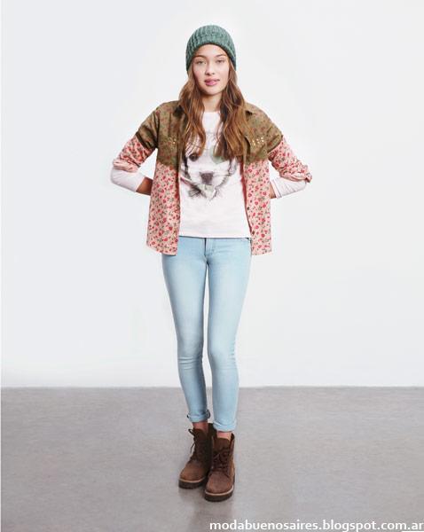 Como quieres que te quiera  invierno 2014 camisas de mujer juveniles 2014.