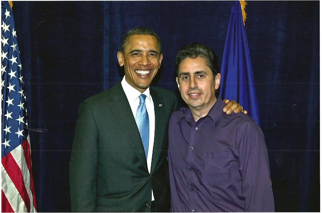 President Barrack Obama & Sergio Gonzalez