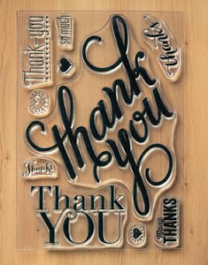 Thank You Photopolymer Stamp Set