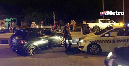 Polis Nafi Berbalas Tembak Tahan Penjenayah