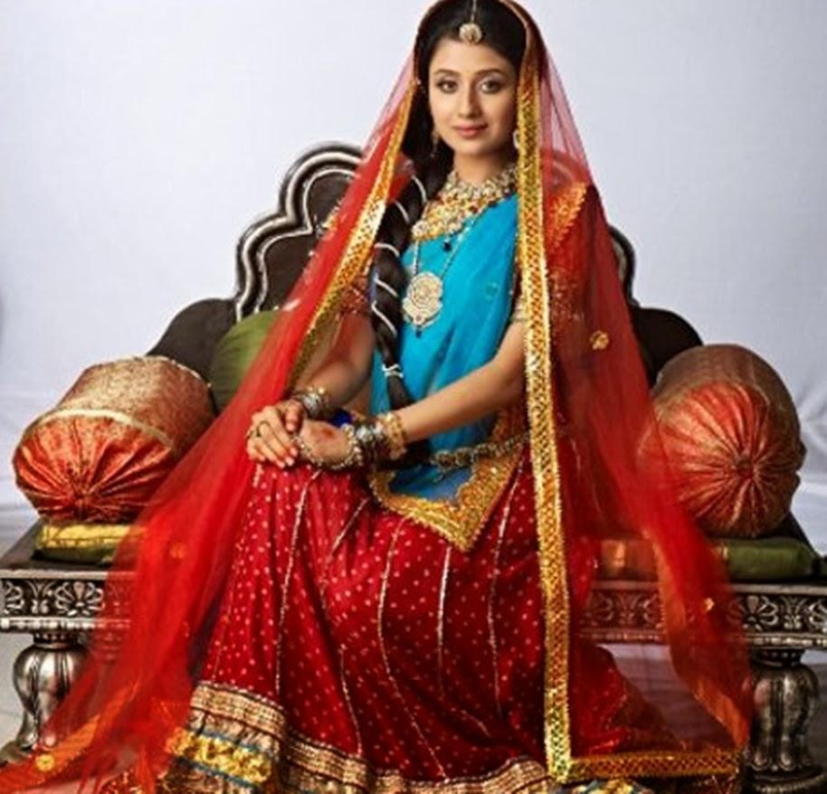 Paridhi Sharma as Rajkumari TV Actress Jodha Akbar hd images 914 x 878