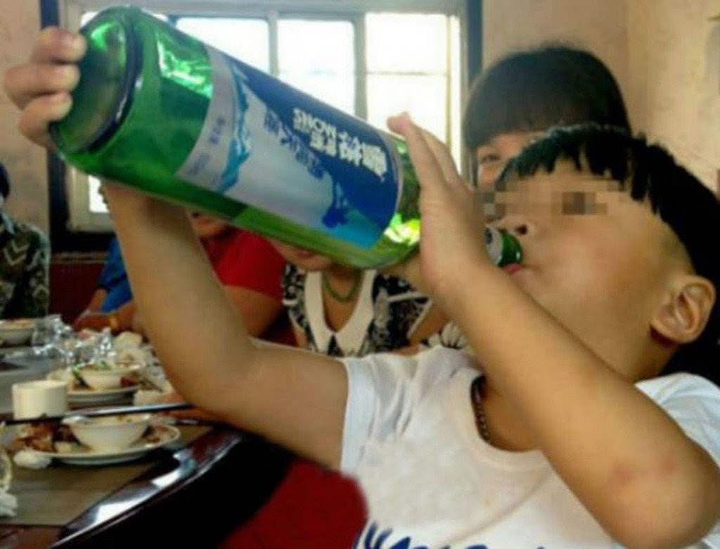 World's Youngest Alcoholic Is Only Two Years Old