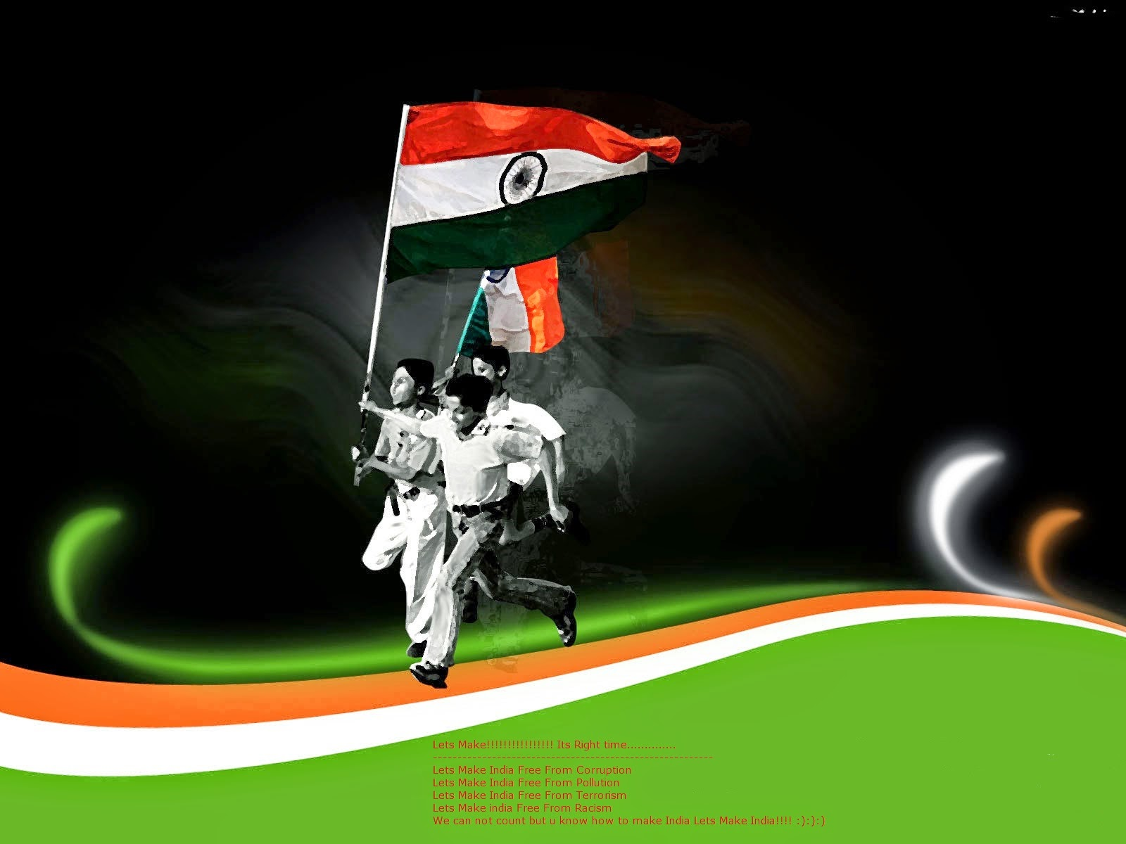 Happy Independence Day India Fb Status Hindienglish Best Fb