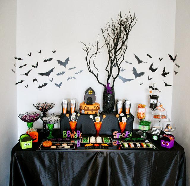 Decoraç u00e3o de Halloween Bagagem de M u00e3eBagagem de M u00e3e -> Decoracao Para Mesa Halloween