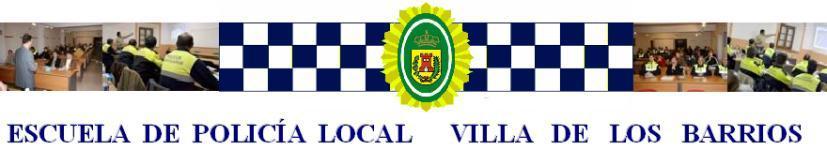 ESCUELA DE POLICÍA LOCAL VILLA DE LOS BARRIOS