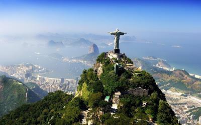 Cristo Redentor en Río de Janeiro Brasil Corcovado