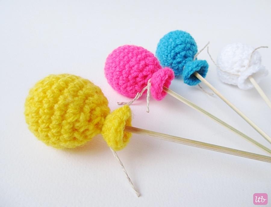{Amigurumi Crochet Balloons} - Little Things Blogged
