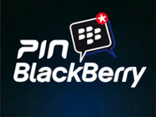cara invite pin blackberry