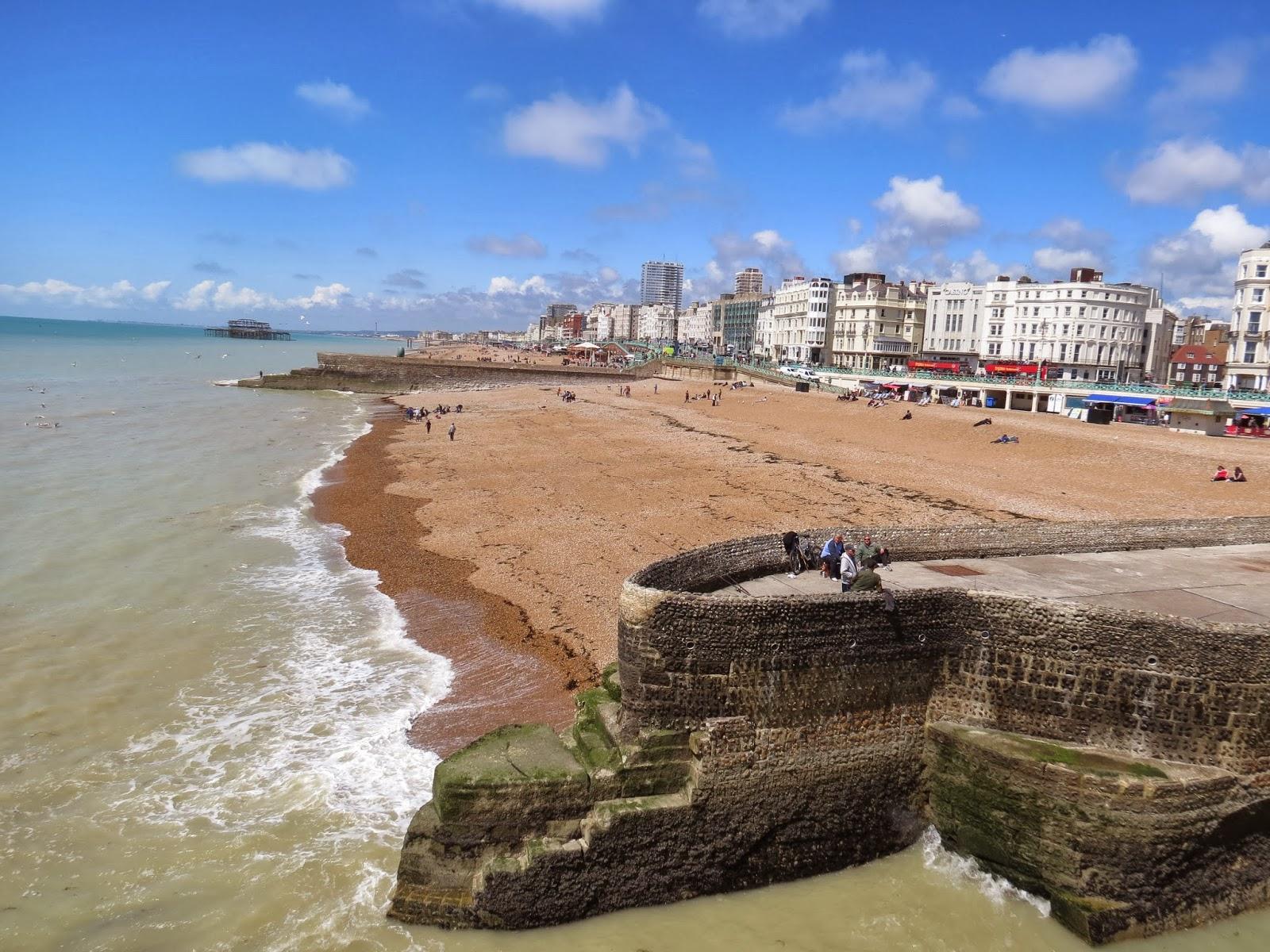 Brighton pier coast