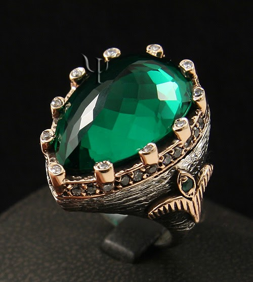 Real Life Emerald: Saracen Heart: Hürrem's Ring