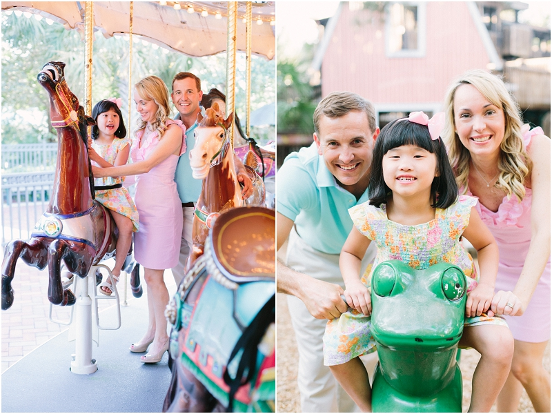 boca raton carousel family photography