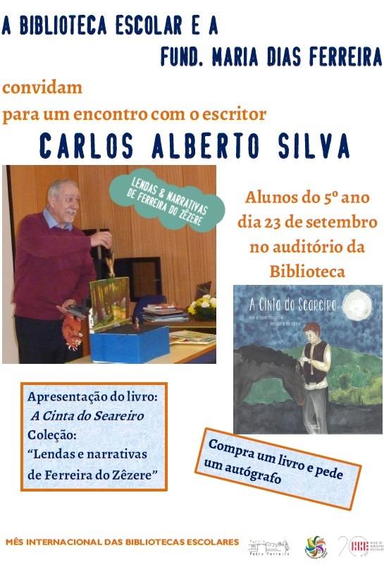 Encontro com o escritor Carlos Alberto Silva