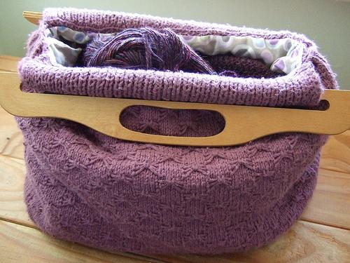 Knitting Pattern Bags : Bag Knitting Patterns Bag Organizer Images