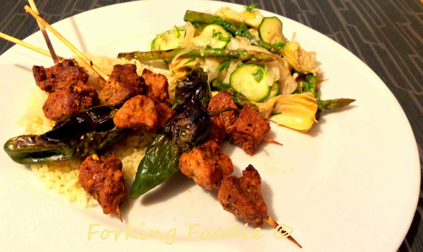 Moorish Pork Skewers Recipe