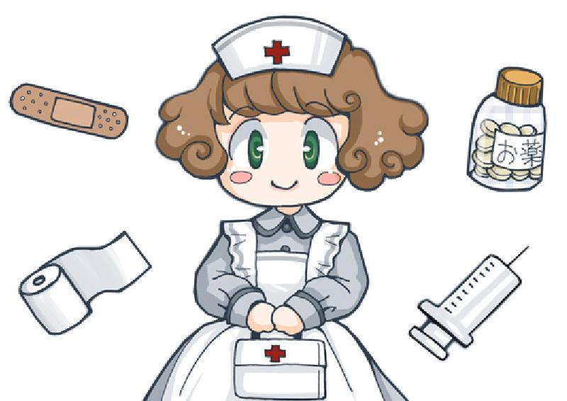 Figuras de enfermeras en caricatura - Imagui