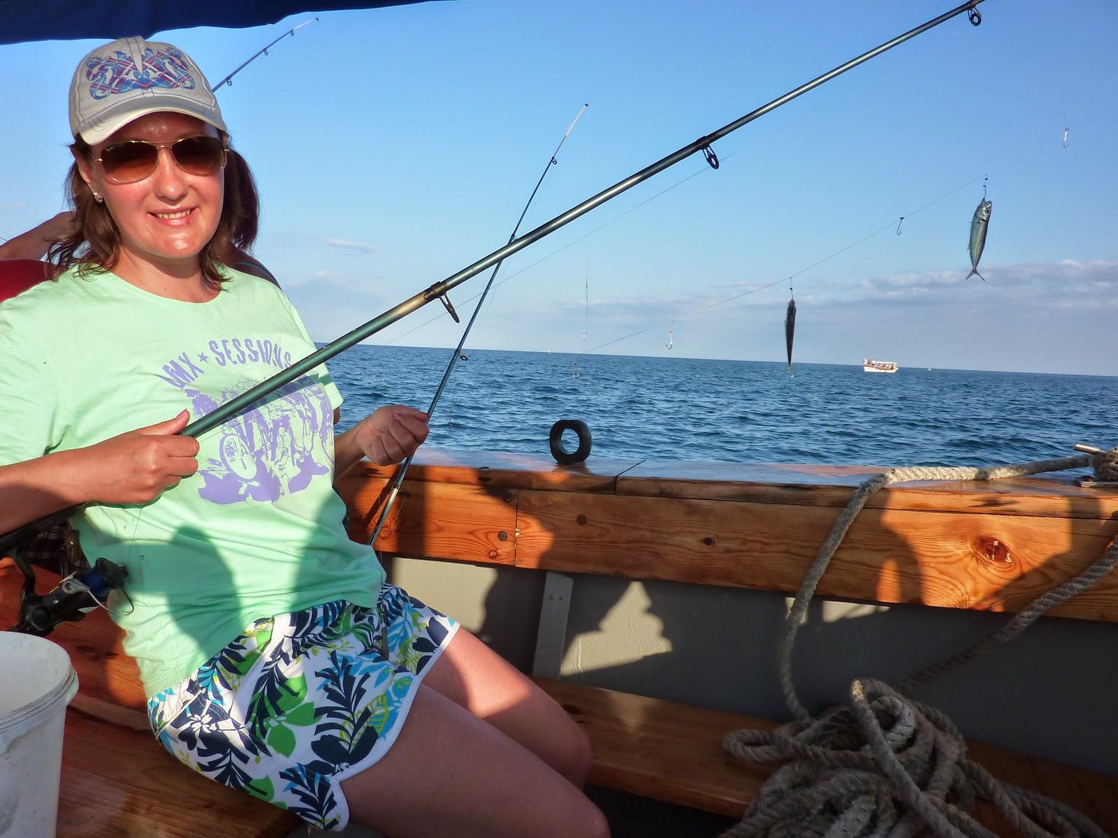 Морская рыбалка. Ловля ставриды в крыму